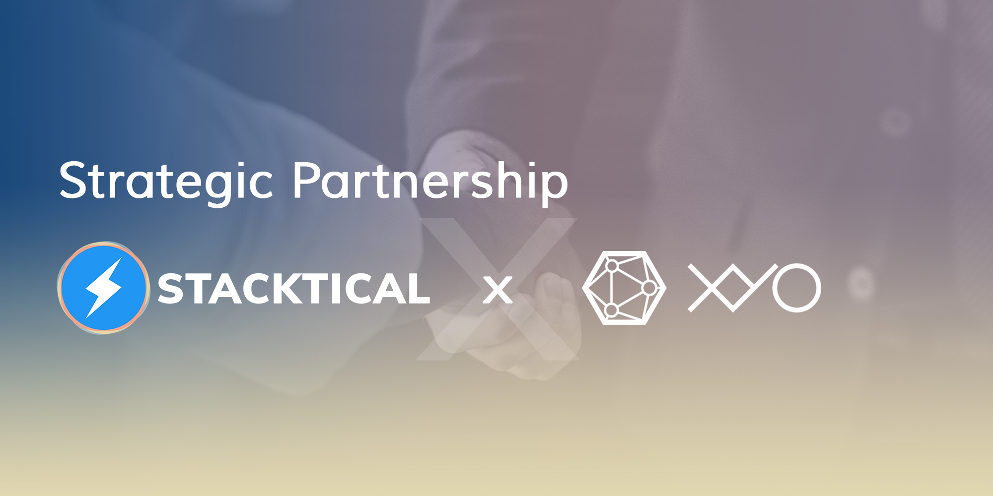 New Partnership Announcement — Stacktical (DSLA) x XYO Network (XYO)