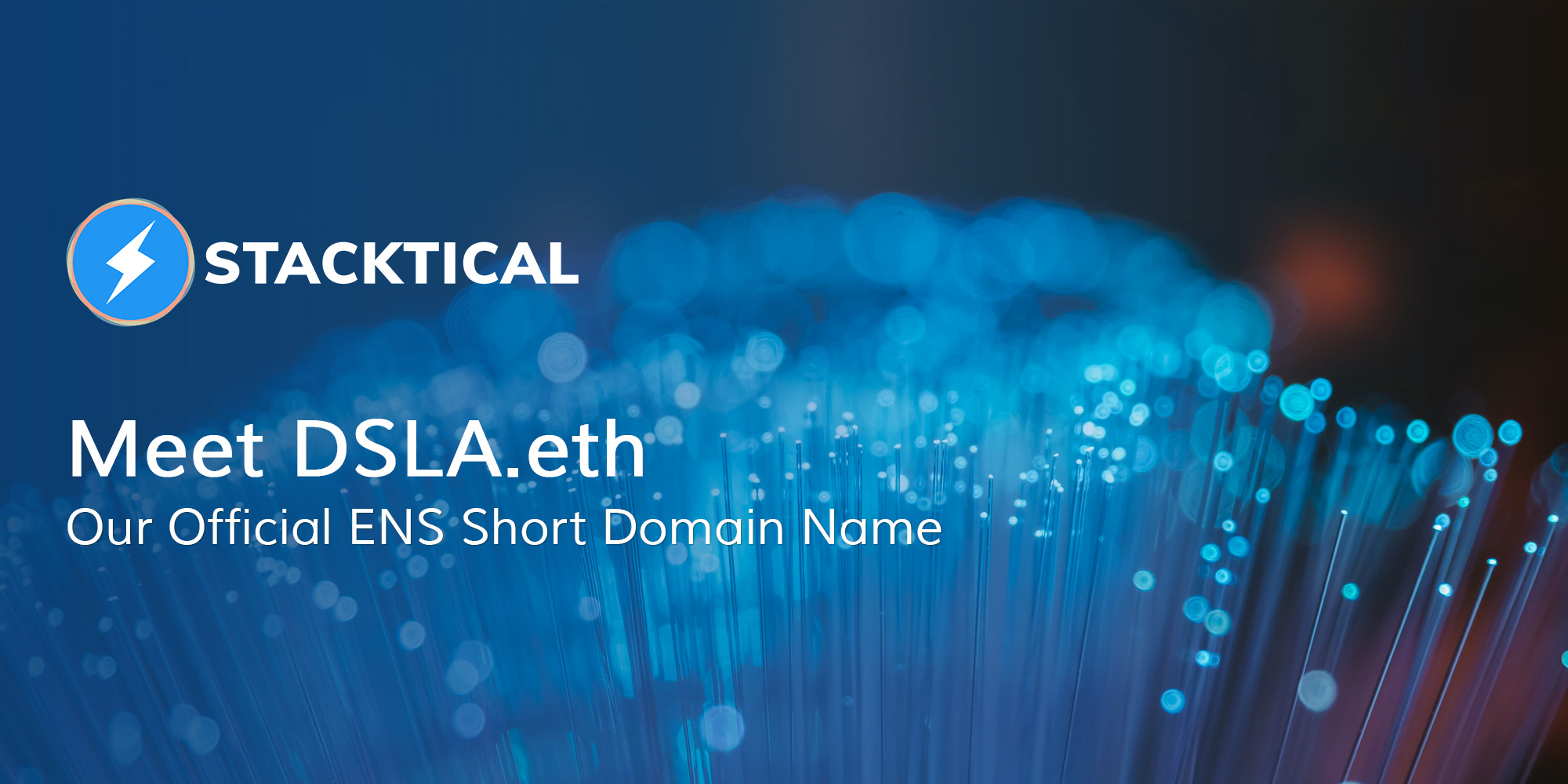 DSLA.eth ENS Domain Name Acquired