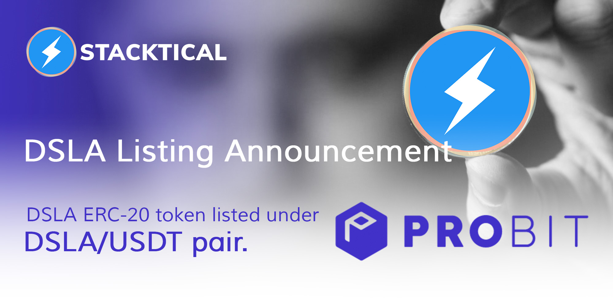 DSLA/USDT debuts trading on ProBit